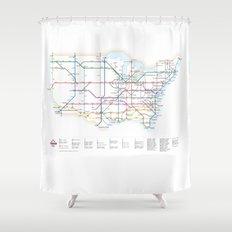 Interstate Shower Curtain
