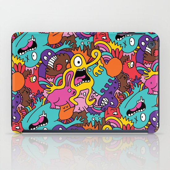 More Monsters, More Patterns iPad Case