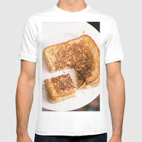 grilled love Mens Fitted Tee White SMALL