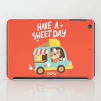 Ice Cream Bear iPad Case