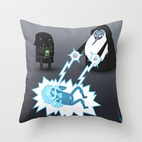 Adventure Wars (Coloured) Throw Pillow