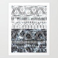 Mendhi #1 Art Print