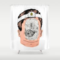 Journey To The Center Of… Shower Curtain