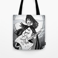 Night Of The Scream Quee… Tote Bag