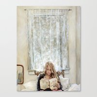 Morning Read Canvas Print