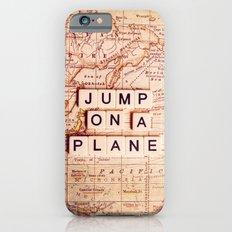 jump on a plane iPhone 6 Slim Case