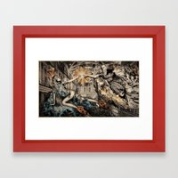The Fashion Of His Love Framed Art Print