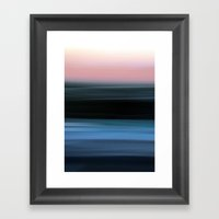 Time In Motion Framed Art Print