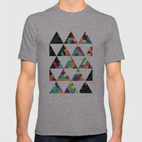 Spectrum Mens Fitted Tee Athletic Grey SMALL