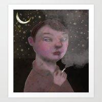 To Young To Smoke Art Print