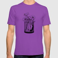 The Loner Mens Fitted Tee Ultraviolet SMALL