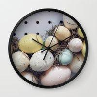 Easter Treats Wall Clock