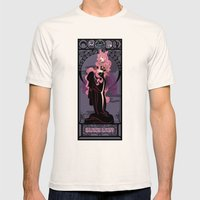 Black Lady Nouveau - Sailor Moon Mens Fitted Tee Natural SMALL