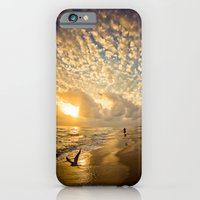 iPhone & iPod Case featuring Walking on Gold by JMcCool