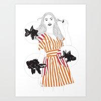 Blowfish #2 Art Print