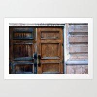 Doors Art Print