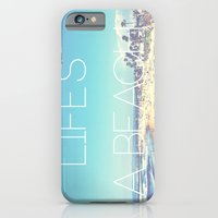 iPhone & iPod Case featuring Life's a Beach by Bolu By Rima