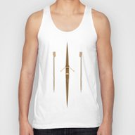Rowing Single Scull Unisex Tank Top
