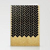 Bricks Patterns Stationery Cards