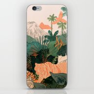 iPhone & iPod Skin featuring Creature Jungle by Msjordankay