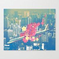 Las Ultimas Flores Canvas Print