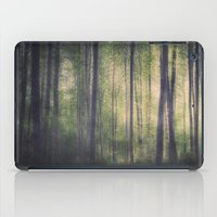 In the woods of Mournton Combs iPad Case