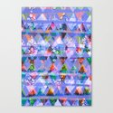 Triangle print Canvas Print