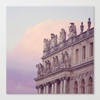 Sunset At Versailles Canvas Print