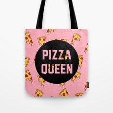 Pizza Queen Tote Bag