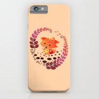iPhone & iPod Case featuring Hello Miss Fox!! by haidishabrina