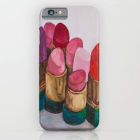 iPhone & iPod Case featuring Lipstick by HOMartistry