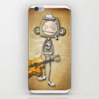 guitar chimp iPhone & iPod Skin