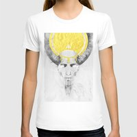 The Lamb Womens Fitted Tee White SMALL