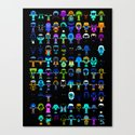 THE ULTIMATE 'AVENGER'S' ROBOTIC COLLECTION Canvas Print