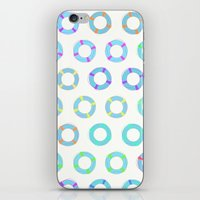 COLOR OF FLOAT iPhone & iPod Skin