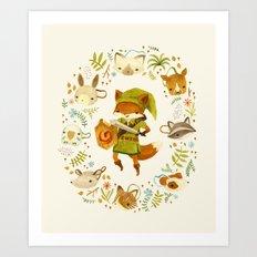 The Legend of Zelda: Mammal's Mask Art Print