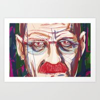 Breaking Walter // Breaking Bad Art Print