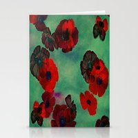 REDFLOWERS Stationery Cards