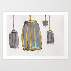 Birdcages #2 Art Print