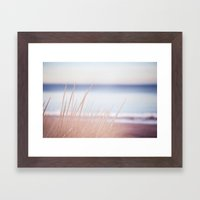 On Your Shore Framed Art Print