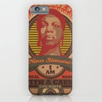 iPhone & iPod Case featuring NINA SIMONE by Carlos Hernandez