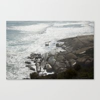 Crash Canvas Print