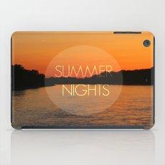 Summer Nights iPad Case