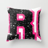Destroyer - Girls Throw Pillow
