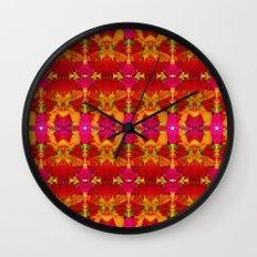 Like flowers and butterflies Wall Clock