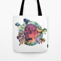 Low Poly Death Tote Bag