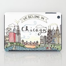 We Belong in Chicago iPad Case