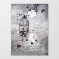 Le Vent Nous Portera ...… Canvas Print