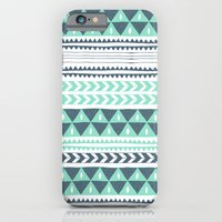 iPhone & iPod Case featuring Winter Stripe by Alice Rebecca Potter