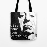 Ideas come from everything Tote Bag